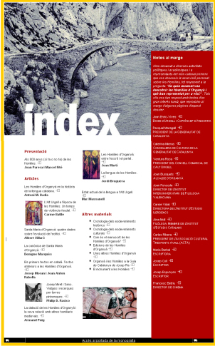 Index Homilies
